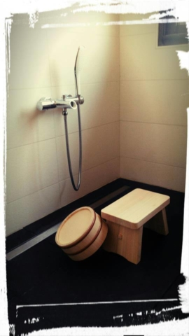 Rituel du bain japonais chez Hosomi Ryokan
